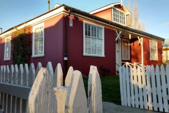 Casas típicas de la Patagonia (C.G)