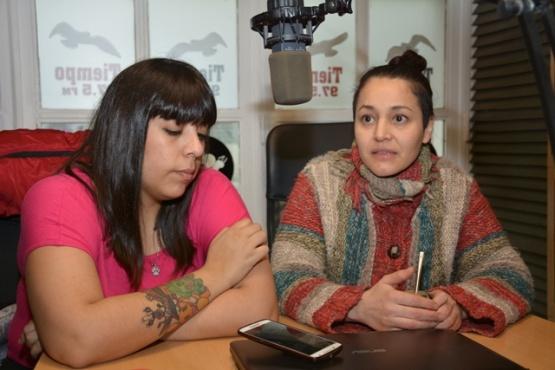 Integrantes de AMA en Tiempo FM (Foto C.R.)