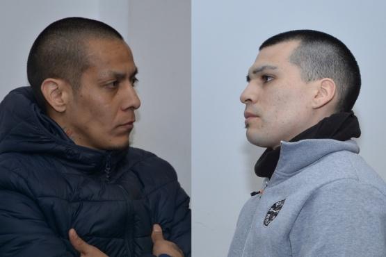 Saldivia y Marshall fueron condenados tras escuchar la sentencia (Foto: C. Robledo)