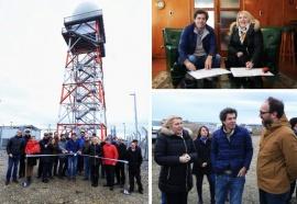 Inauguran radar meteorológico más austral del mundo