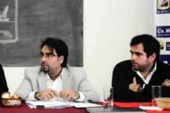 Gómez venía trabajando el proyecto junto a COMUNA.
