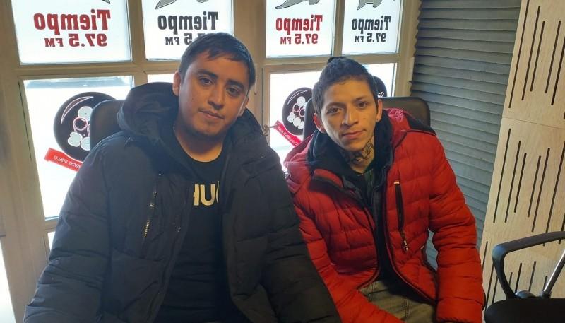 Gonzalo y Sebastián adelantaron lo que será el 4° Corso de Invierno