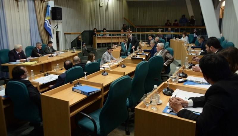 La Legislatura Provincial en sesión.