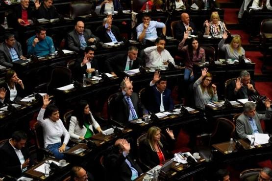 Cámara de diputados (Infobae)