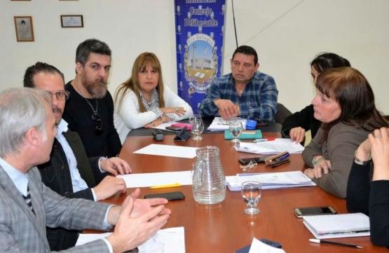 El Consejo Vial se reunió en el Legislativo.