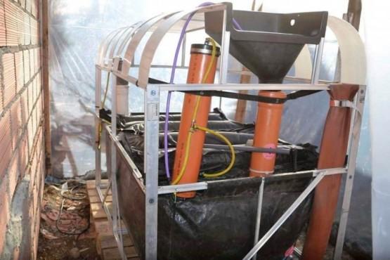 La cocina que se instaló en el Comedor de Juan Romero genera energía limpia y reutilizable.