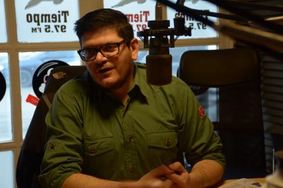 El candidato a intendente de Río Gallegos.