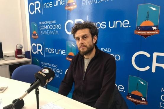 El Secretario de Infraestructura de Comodoro, Luis Romero