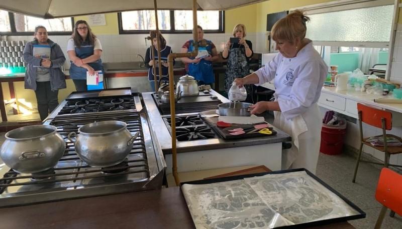 La prestigiosa chef pastelera Rosi Baiardi