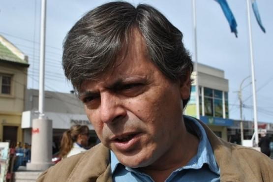 El candidato a intendente, Fabián Leguizamón.