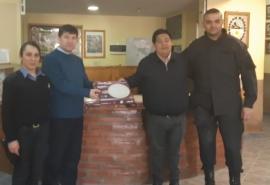 Comisaría Tercera recibió luminarias para la dependencia