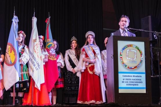 Quedó inaugurada la nueva edición de la Feria de las Colectividades
