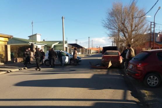 Personal policial se hizo presente en la colisión triple (P.A)