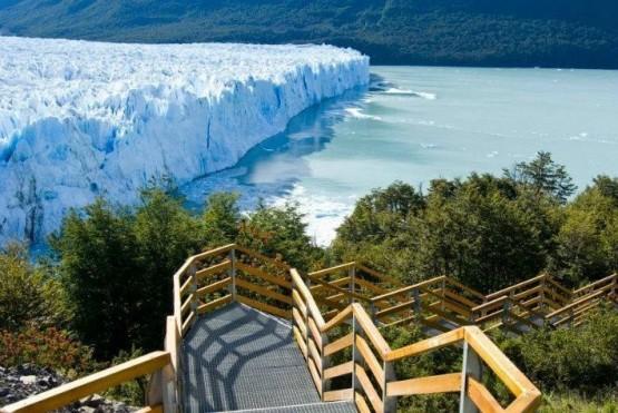 Vista de El Glaciar en El Calafate.