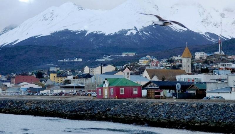 Clima frío para las ciudades de Tierra del Fuego.