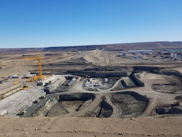 El proyecto de las represas avanza.