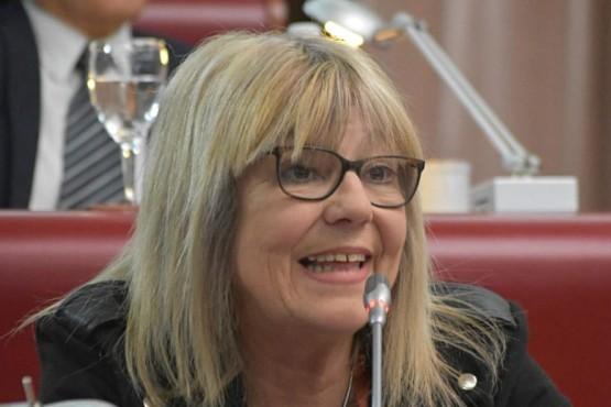 La diputada provincial Estela Hernandez