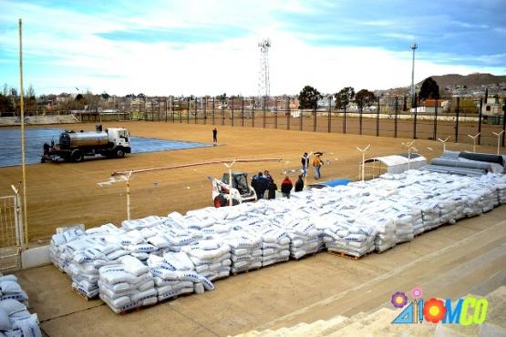 En Caleta habrá nuevo estadio de césped.