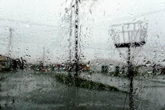 Día lluvioso en Río Gallegos.
