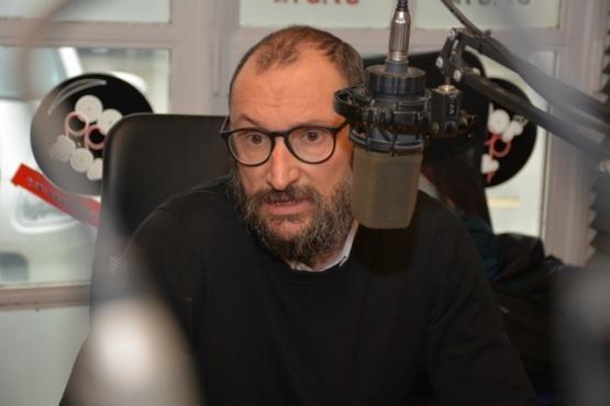 El candidato a decano de la UARG, Pablo Navas (Foto C.R.)