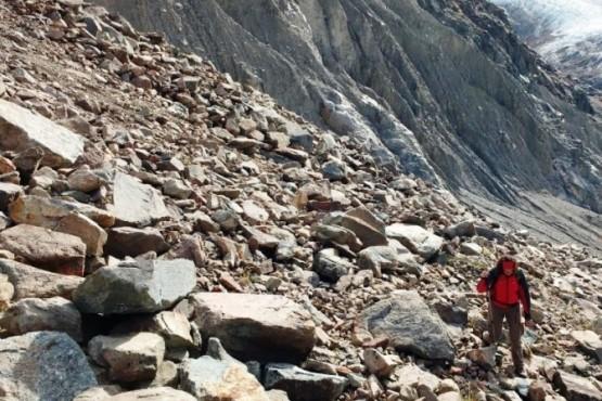 El SINAGIR presentó un informe sobre peligrosidad de derrumbe de El Chaltén