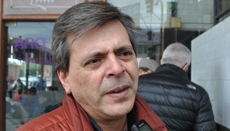 El concejal de la UCR, Fabián Leguizamón.