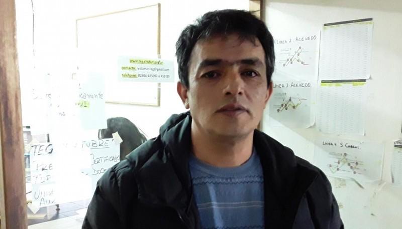 Javier Danton de la Dirección de Transporte.