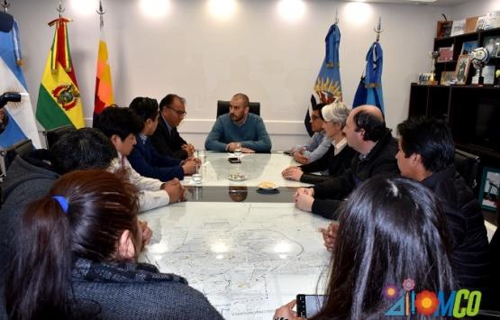 Reunión realizada con el referente boliviano.