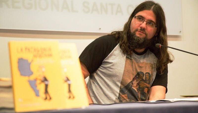 Sebastián Premici, autor de La Patagonia Ajustada. (C. González).