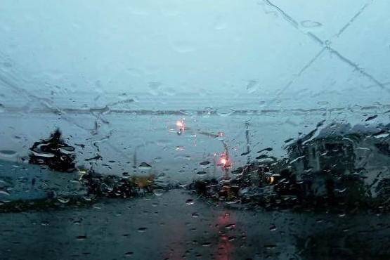 Sigue la lluvia en Río Gallegos.