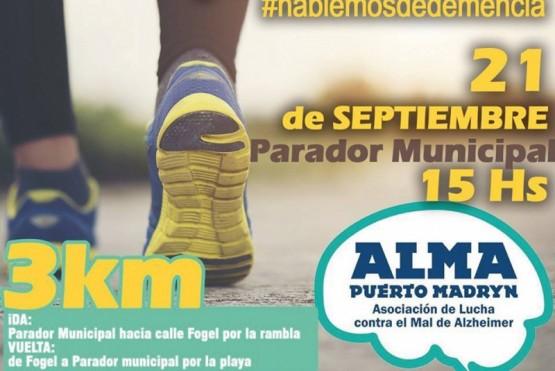 Realizarán una caminata por el Día Mundial del Alzheimer