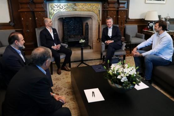 El encuentro fue en Casa de Gobierno.