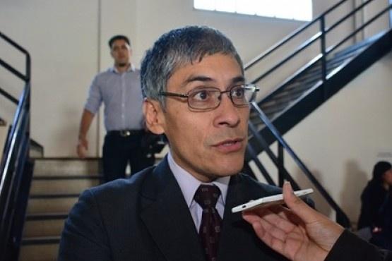 El concejal del FPV Eloy Echazú