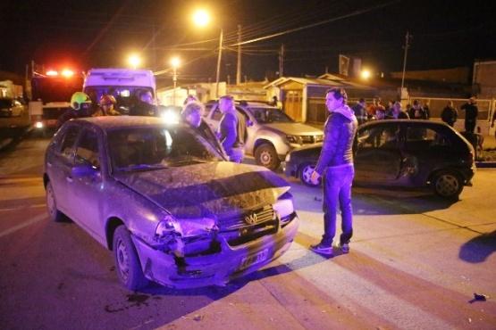 Los vehículos involucrados en la colisión (Foto C.G.)