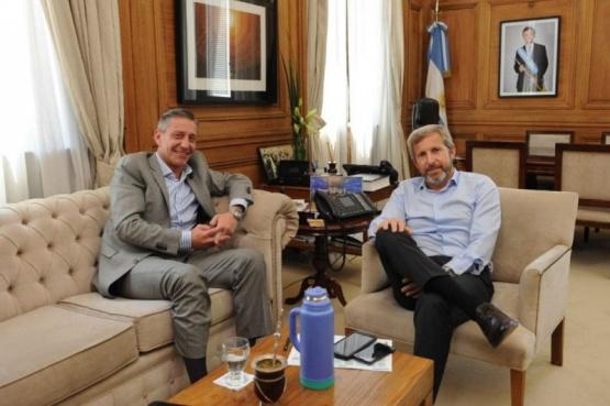 El envío de fondos fue acordado con Frigerio y Finocchiaro Crédito: Prensa