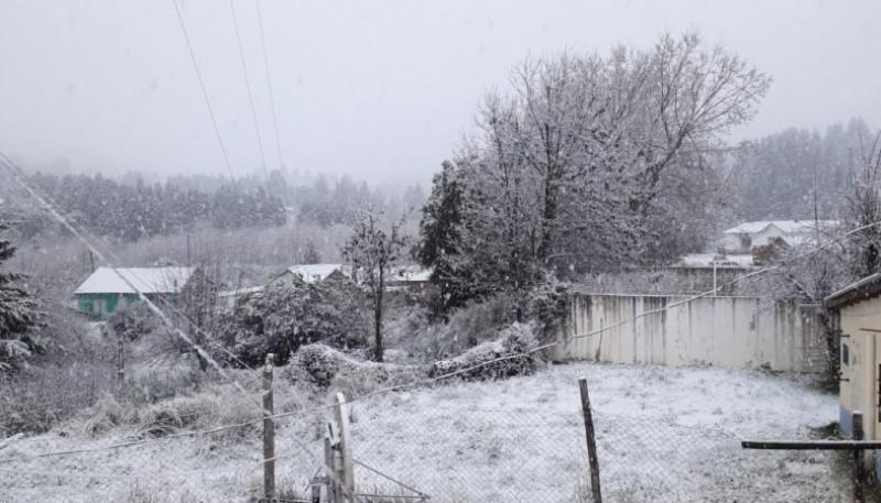 Imagenes de Corcovado tras la nieve.