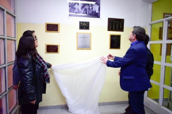 Placa de Daniel Toninetti, desaparecido por la dictadura militar