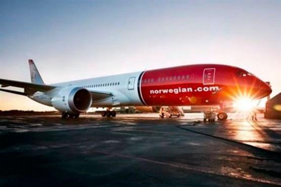 Avión de la empresa Norwegian.