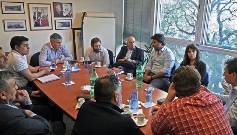 La reunión se llevó adelante en Buenos Aires.