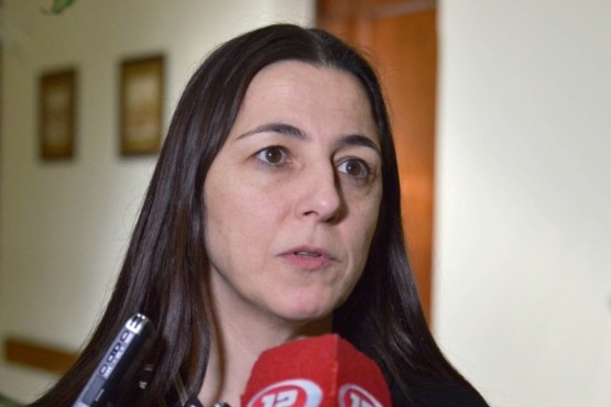 La Ministra de Gobierno, Mariana Vega.
