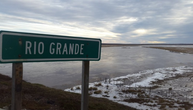 La temperatura en Río Grande.