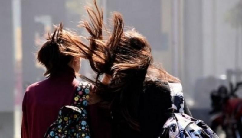 Imagen ilustrativa de las fuertes ráfagas de viento.