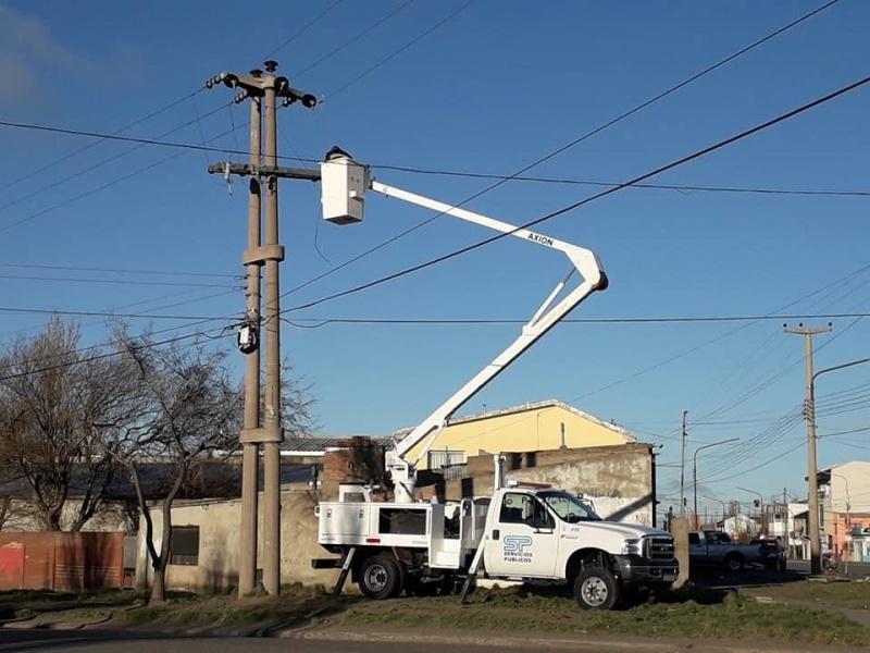 SPSE trabajó para que vuelva la energía.