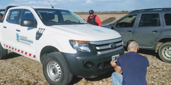 La camioneta fue encontrada e investigan las cámaras-