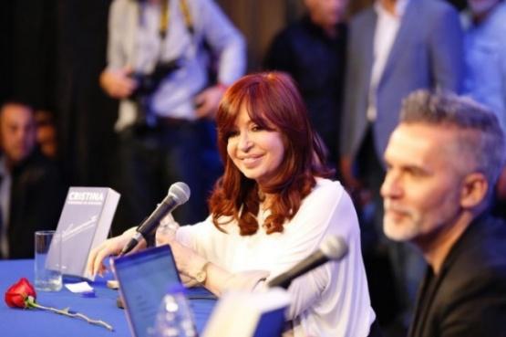 Cristina se presentó en La Matanza.