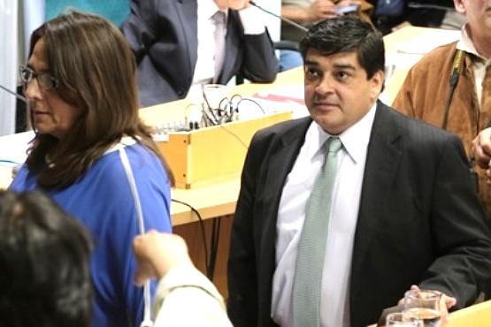 Diputado Claudio García, autor del proyecto de ley.