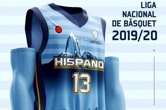 Hispano tiene nueva indumentaria para el debut.