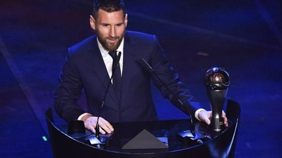 Fue el premio premio de Messi en este certamen.