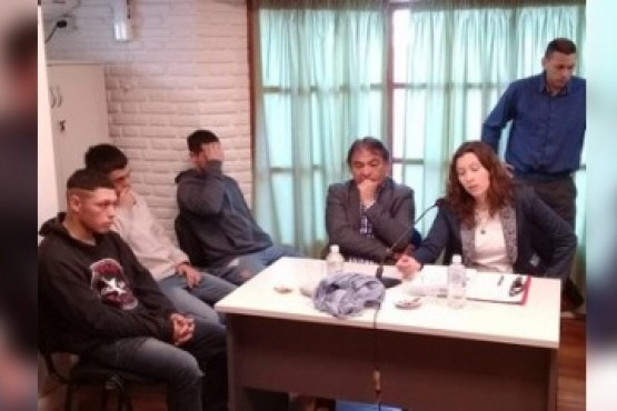 Este lunes se realizó la audiencia de control de detenidos en la Oficina Judicial de Rawson.
