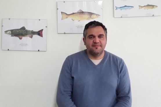 José Luis Pérez, director de Pesca Continental Provincial.